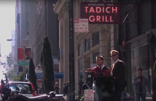 Stock film of San Fransisco