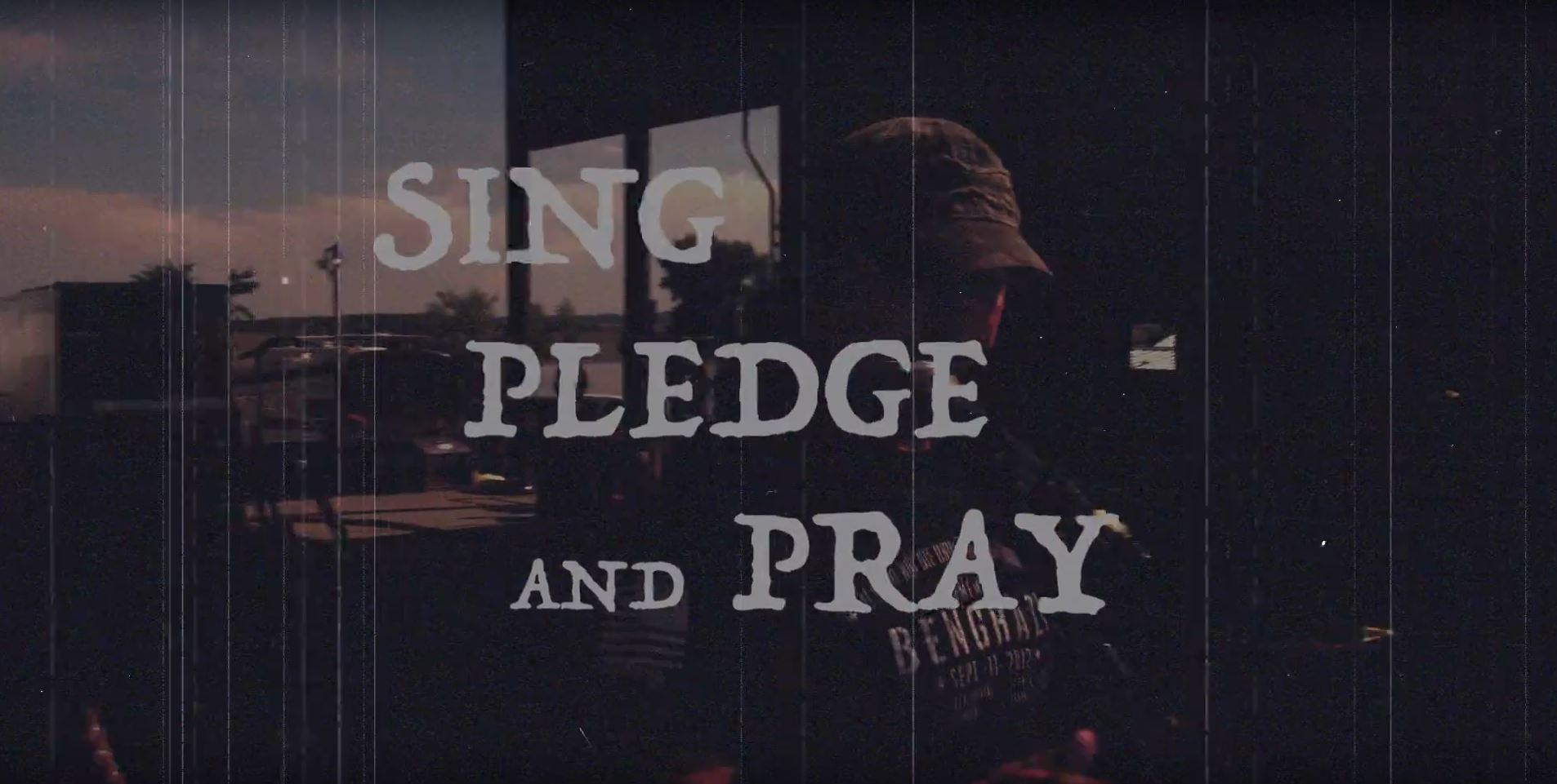 Sing Pledge and Pray
